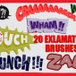 20 Exclamation Photoshop Brushes