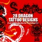 27 Dragon Tattoo Designs as Photoshop Brushes