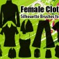 35 Female Clothing Photoshop Brushes