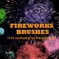 15 Super Large Fireworks Picture Photoshop Brushes