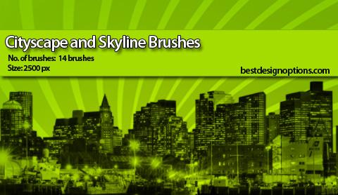 photoshop-brushes-skylines