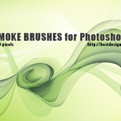 15 Vector Smoke Backgrounds Photoshop Brushes
