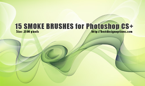 smoke backgrounds Photoshop brushes