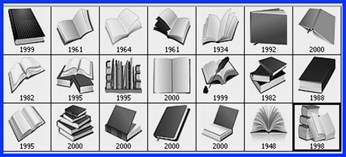 clip art books Photoshop brushes