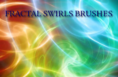 fractal art Photoshop brushes