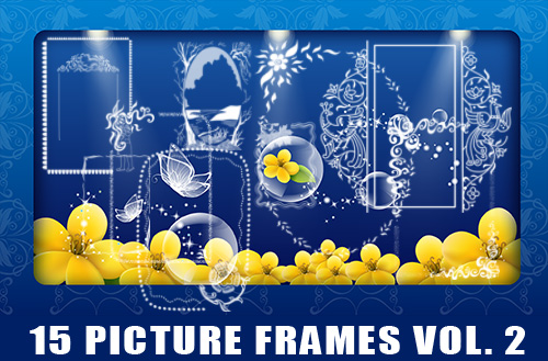 picture frames photoshop brushes