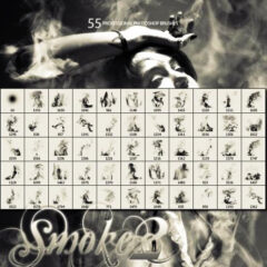 55 Smoke backgrounds Photoshop Brushes