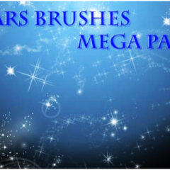 115 Stars Background Photoshop Brushes