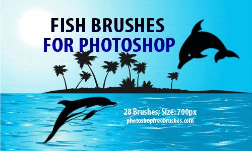fish clip art photoshop brushes
