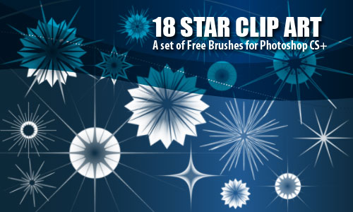 star clip art photoshop brushes
