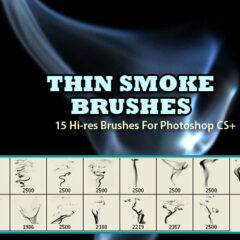 15 Thin Smoke Background Brushes