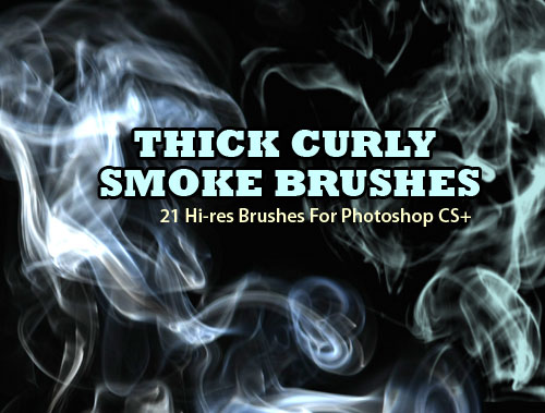 smoke background Photoshop brushes