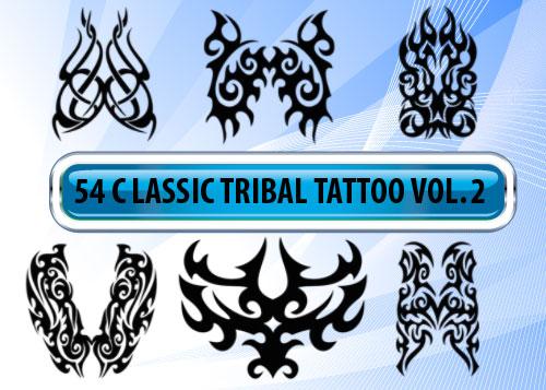 tribal tattoo designs photoshop brushes