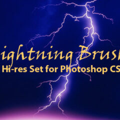 15 Lightning Photoshop Brushes for Creating Seamless Effects