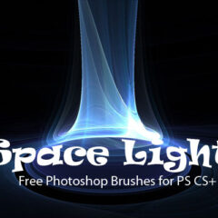 12 Space Light Photoshop Brushes