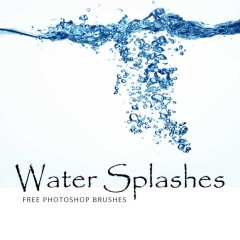 18 Realistic Water Effects Photoshop Brushes