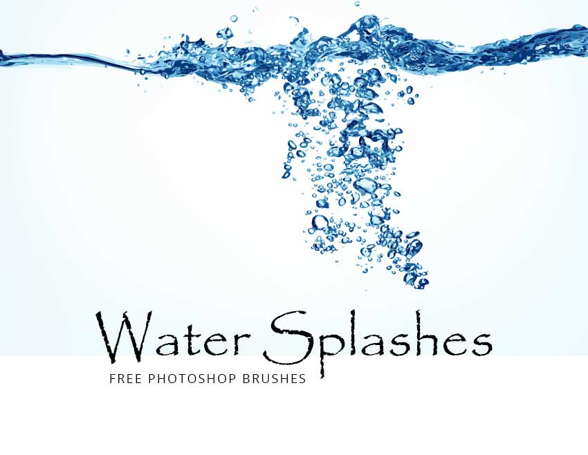 Water Effects Photoshop Brushes | PHOTOSHOP FREE BRUSHES