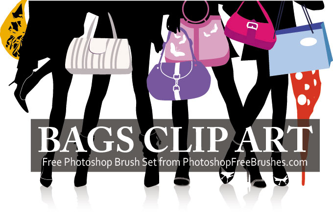 designer bag photoshop brushes