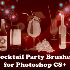 Party Clip Art Brushes for Photoshop