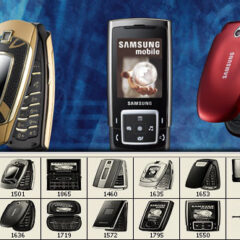 12 Samsung Cell Phone Photoshop Brushes