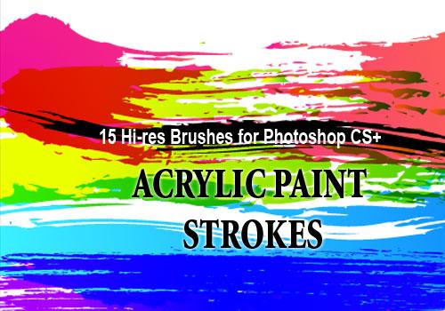 grunge-brushes-acrylic-photoshop brushes