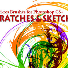Grunge Brushes: Scratches and Sketches