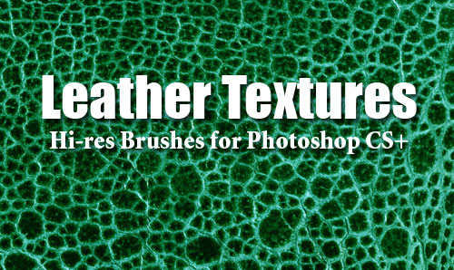 leather textures photoshop brushes