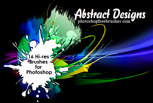 abstract designs photoshop brushes