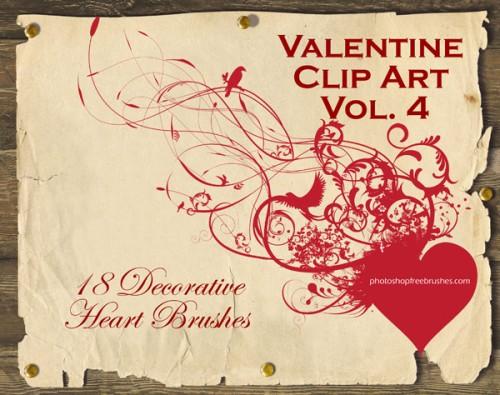 heart photoshop brushes