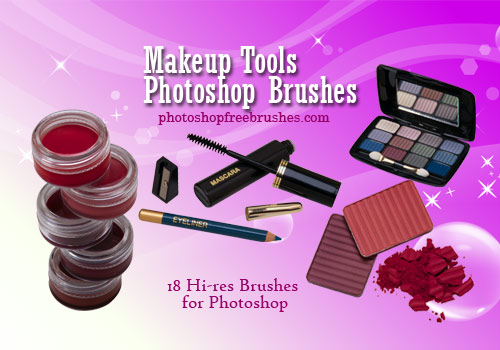 makeup tools photoshop brushes