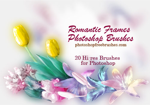 photo frames Photoshop brushes