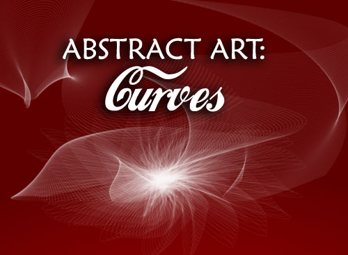 abstract art curves photoshop brushes