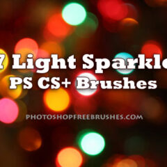 17 Sparkle of Lights Photoshop Brushes