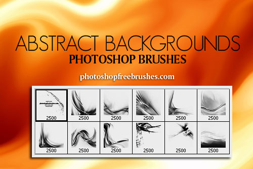 abstract background photoshop brushes