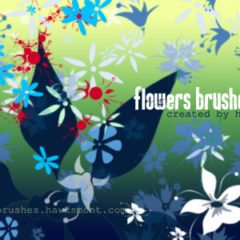 30 Sets of High-Quality Free Flower Brushes for Photoshop