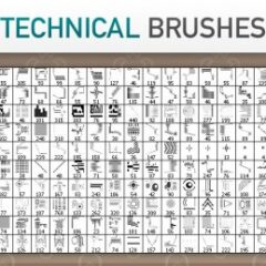 30 Tech Photoshop Brush Sets for Futuristic Effects