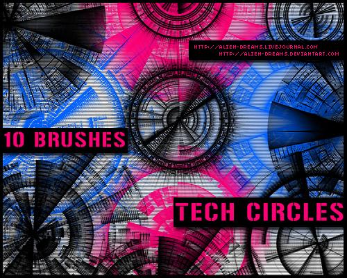 tech brushes photoshop