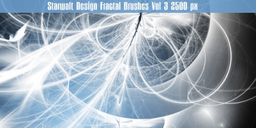 fractal photoshop brushes