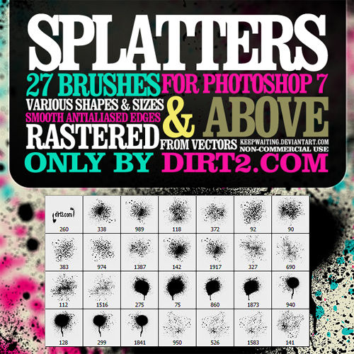graffiti photoshop brushes