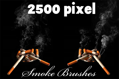 smoke brushes photoshop
