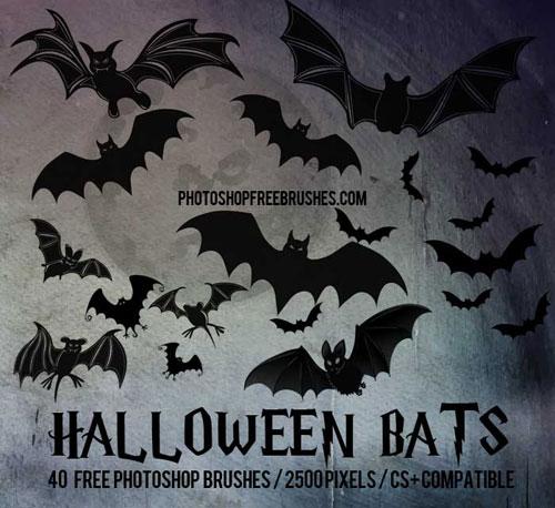 halloween-bats-brushes-1