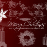 15 Elegant Christmas Photoshop Brushes: Exclusive Freebies