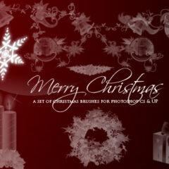15 Elegant Christmas Photoshop Brushes: Exclusive Freebies