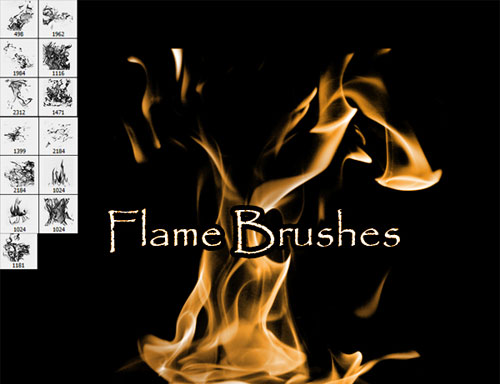 fire photoshop brushes