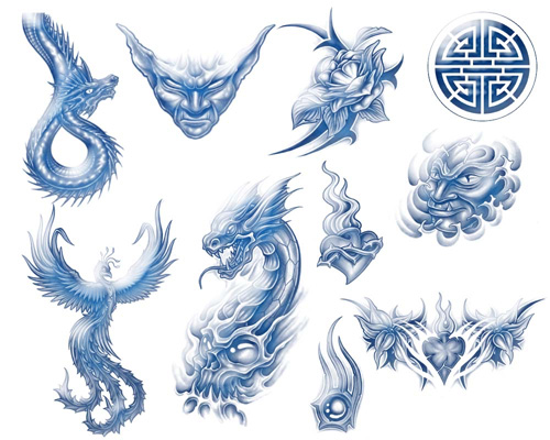 1500+ Free Tribal Photoshop Brushes and Tattoo Designs