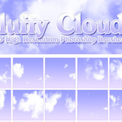 400+ Free Clouds Photoshop Brushes for Photo Manipulations