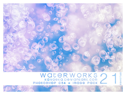 water photoshop brushes