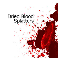 500+ Gory Blood Splatter Photoshop Brushes