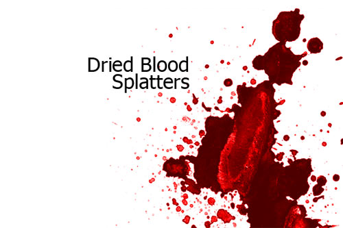 blood splatter photoshop brushes