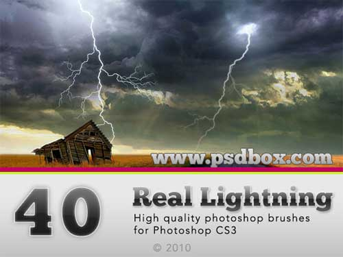 lightning photoshop brushes